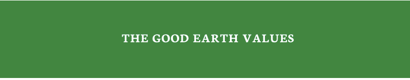 Good Earth Values