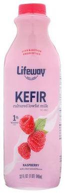 Low Fat Raspberry Kefir