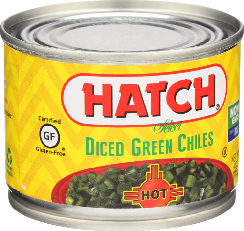 Diced Green Chiles,Hot