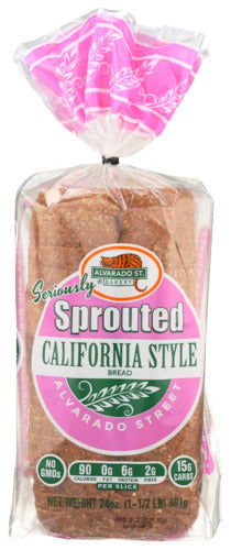 Organic Sprouted Calif Style Bread