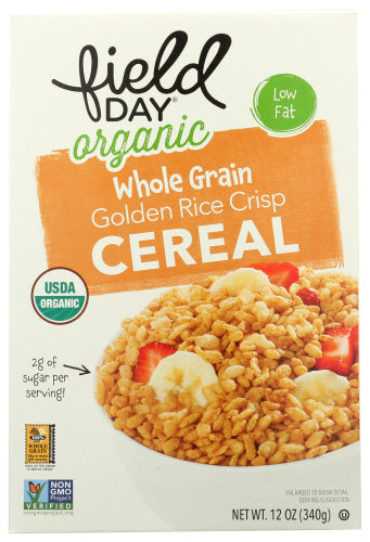 Golden Rice Crisp