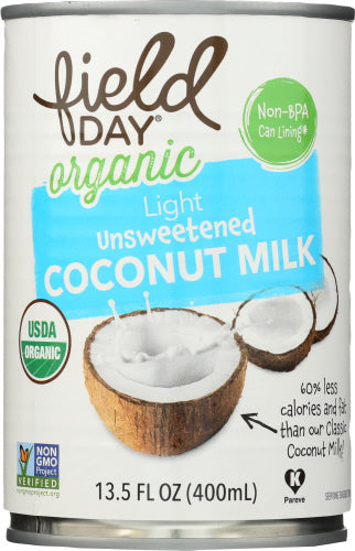 Organic Light Coconut Milk