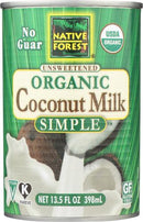Organic Pure&Simple Coconut milk
