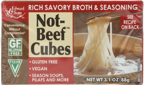 Not-Beef Bouillon Cubes, Vegan