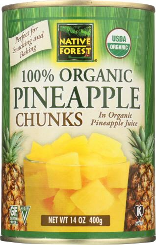 Organic Pineapple Chunks
