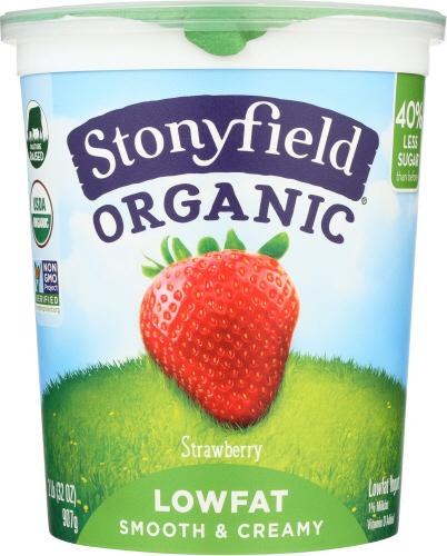 Organic Low Fat Strawberry