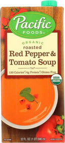 Org. Rstd Red Pepper & Tomato Soup