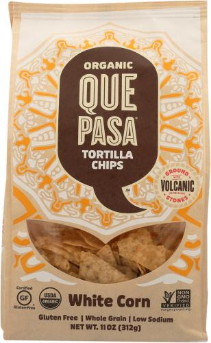 Organic White Corn Tortilla Chips