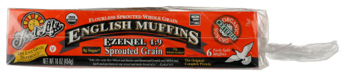 Ezekiel Sprouted Grain Eng Muffins