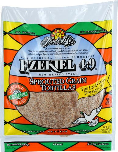 Ezekiel Spruted Grain Tortillas