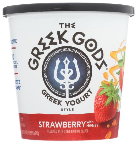 Honey Strawberry Yogurt