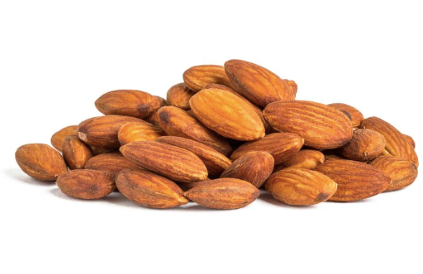 Almonds, Roasted & No Salt, Organic