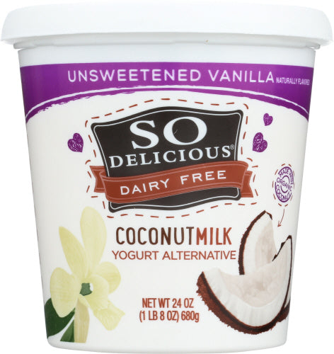 Unsweetened Vanilla Coconut Yogurt