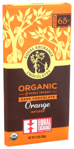 Orange Dark Chocolate Bar