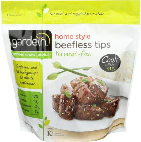 Vegan Homestyle Beefless Tips