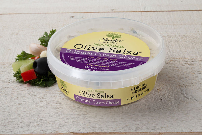 Becki's Olive Cream Cheese