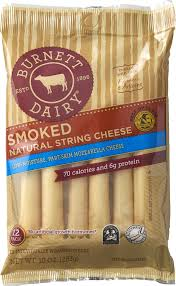 Smoked String Cheese, pre-pack