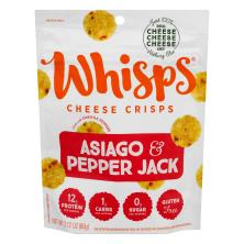 Pepper Jack Cheese Whisps