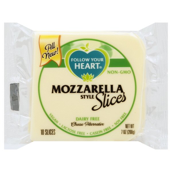Vegan Sliced Mozzarella Cheese