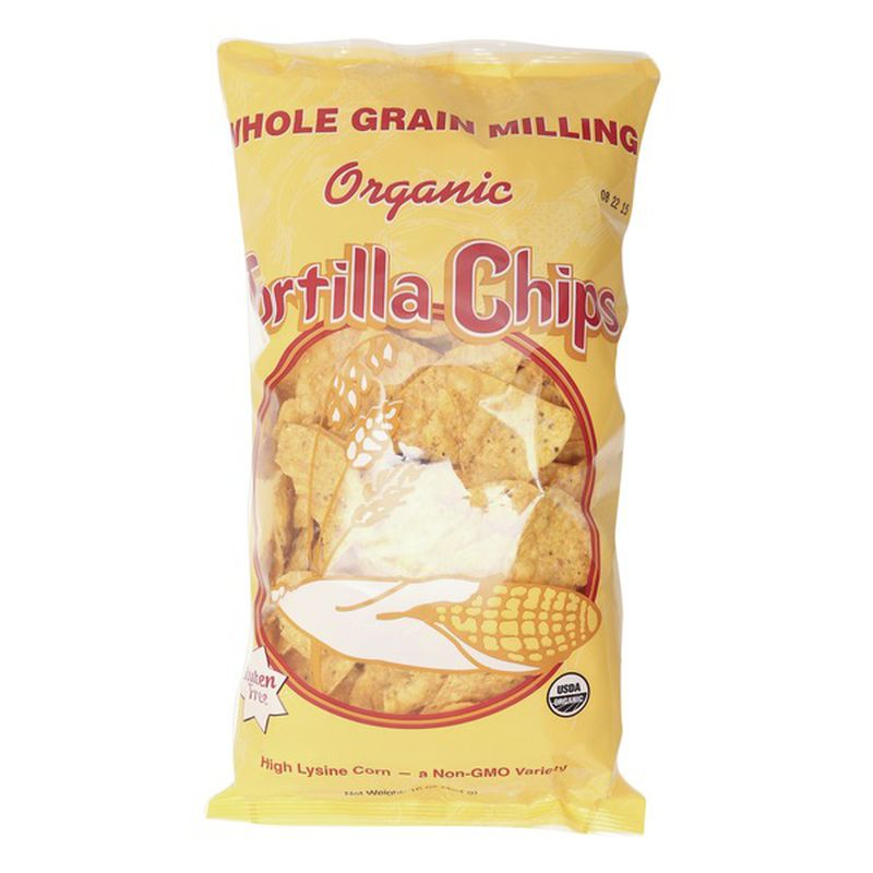 Organic Yellow Tortilla Chips