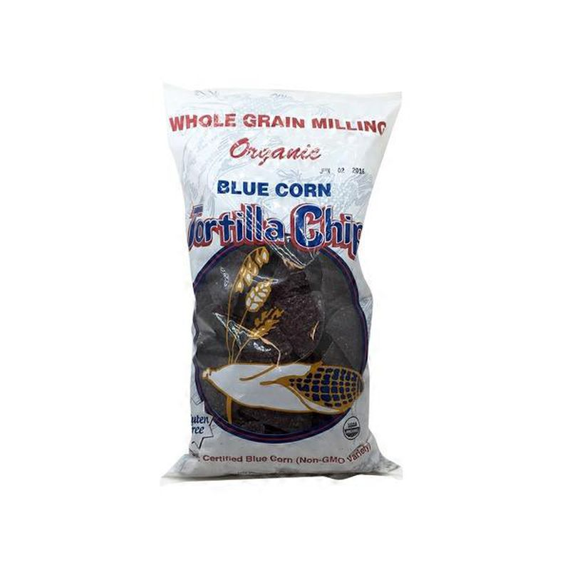Organic Blue Tortilla Chips