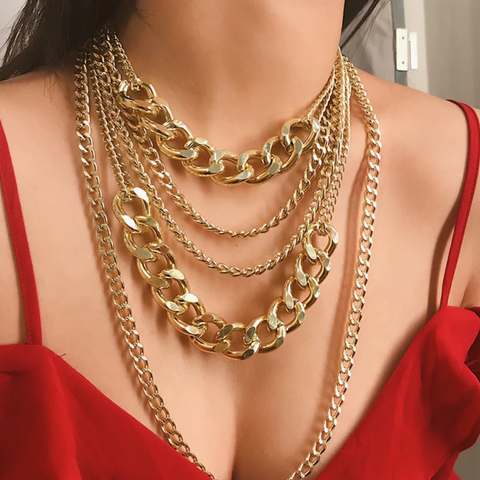 India Layered Necklace