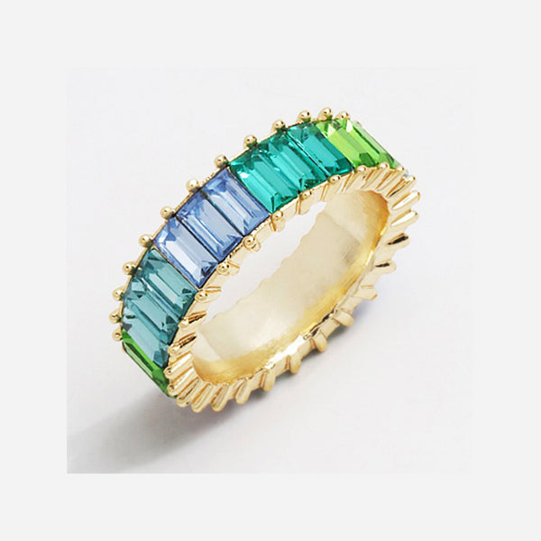 Evangeline Rainbow Ring
