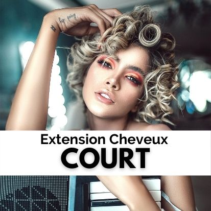 Extension Cheveux Court