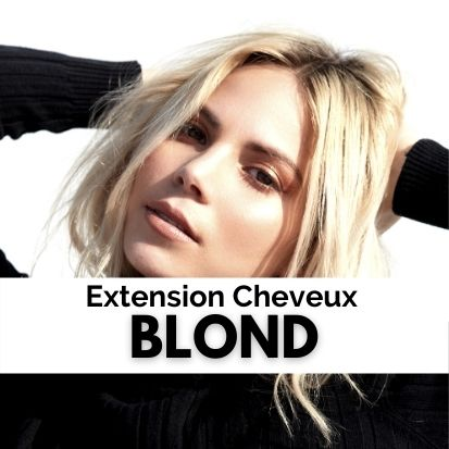 Extension Cheveux Blond