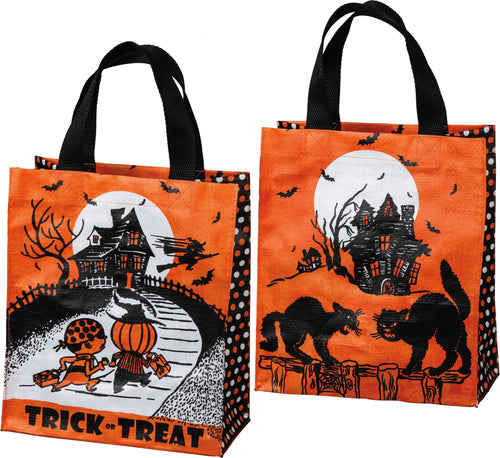 Double-sided Reusable Hallowe'en Tote #101771