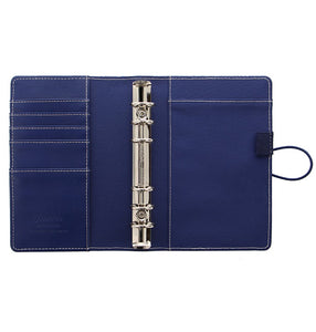 Filofax Personal Binder- Impressions: Navy&White  C028710
