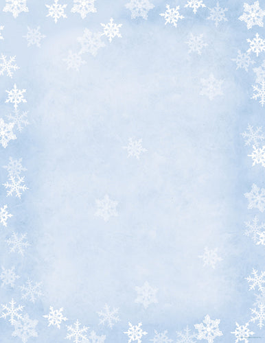 Snowflake Stationery, pkg. 40  #2014080