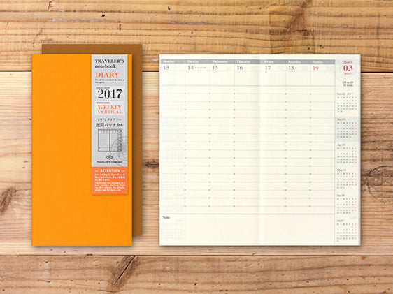 SOLD OUT Midori TN 2019 Monthly Diary