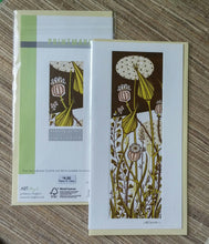 Load image into Gallery viewer, Angie Lewin- Linocut: Evening Garden    AL916