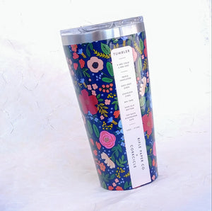 Rifle Tumbler- Wild Rose Navy  RP2116GNW