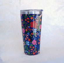 Load image into Gallery viewer, Rifle Tumbler- Wild Rose Navy  RP2116GNW