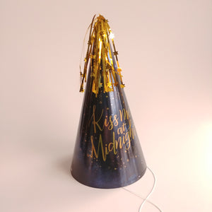 Kiss Me at Midnight New Year Party Hat  #250856