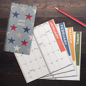 2-Year Pocket Monthly Calendar 2021 & 2022  #21-7096