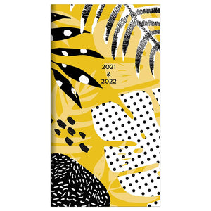 2-Year Pocket Monthly Calendar 2021 & 2022  #21-7204