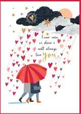 Love Card- Louise Tiler: Rain or Shine    #ML031