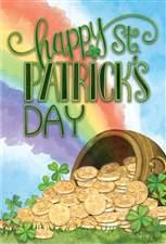 St. Patrick's Day Card- Pictura: Pot of Gold  #83002