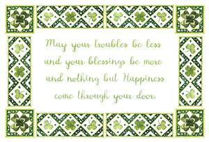 St. Patrick's Day Card- Pictura: Blessing   #83003