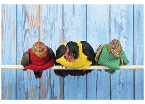 Palm Press Birthday Card: Chickens  #3460