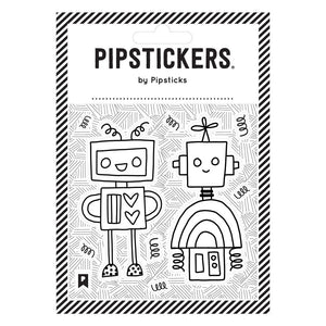 PipStickers- Colour-in Robots