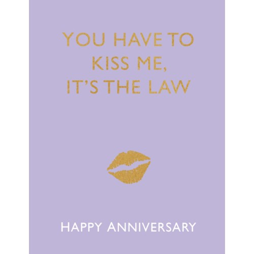 Our Anniversary Card- Halfpenny Postage: It's the Law #HP19308