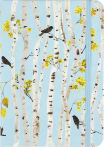 Birch Woods Lined Journal #4886