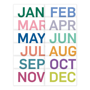 Wall Calendar- Blueline 2021 Colours  C172124B