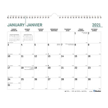 Load image into Gallery viewer, Wall Calendar- Blueline 2021 Colours  C172124B