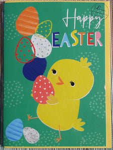 Easter Card- Laura Darrington Design: Happy Easter Chick  #AR66