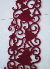 Felted Laser-Cut Ribbon